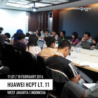 Photo taken at PT. Huawei Tech Investment by Hari J. on 2/10/2014