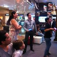 Photo taken at Sony Store by Paola on 5/18/2013