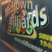 Photo taken at Midtown Billiards by Clay F. on 1/18/2013