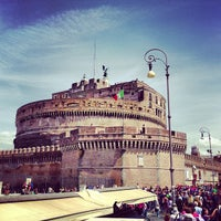 Photo taken at Giardini di Castel Sant'Angelo by Lidia S. on 4/28/2013