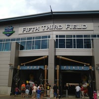 Photo taken at Fifth Third Field by Perry A. on 7/7/2013