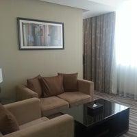 Photo taken at Cristal Hotel by Ilona on 2/8/2013