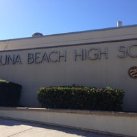 Photo taken at Laguna Beach High School by Colleen D. on 10/6/2013