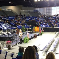 Photo taken at Murphy Center (MC) by T S. on 5/7/2016