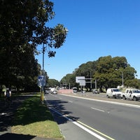 Photo taken at Anzac Parade by Sean S. on 9/19/2013