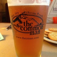 Photo taken at The Common Man by John O. on 8/3/2013