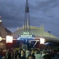Photo taken at Space Mountain by Joshua M. on 6/17/2013