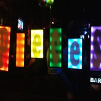 Photo taken at Pieces Bar by Paul M. on 6/16/2013