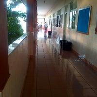 Photo taken at SMA Katolik Rex Mundi Manado by Gerry R. on 7/22/2013
