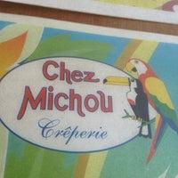 Photo taken at Chez Michou Crêperie by Rafael A. on 11/6/2012