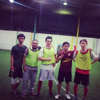 Photo taken at De Futsal by Fega J. on 4/19/2013