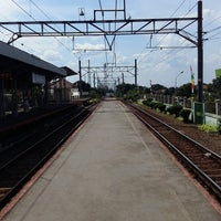Photo taken at Stasiun Cilebut by Renzina R. on 8/7/2016