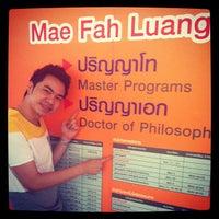 Photo taken at MFU: C2-204 (MBA10) by Miracle J. on 5/11/2013