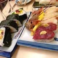 Photo taken at すし政 中店 by Kuma on 10/31/2013