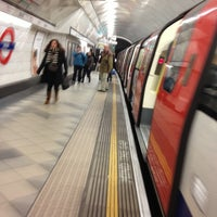 Photo taken at Bank London Underground and DLR Station by Namer M. on 11/16/2012