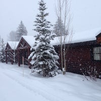 Photo taken at Rustic Inn at Jackson Hole by Femke W. on 12/30/2014