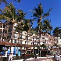 Photo taken at Hotel Playa Los Arcos by Brenda N. on 5/31/2013
