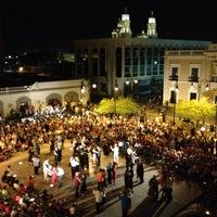 Photo taken at Plaza Bicentenario by Javier R. on 4/30/2013