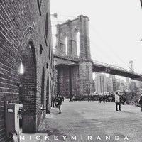 Photo taken at Brooklyn Bridge Park by Mickey M. on 4/21/2013