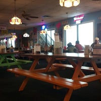 Photo taken at Crabby Bill's Seafood by James B. on 3/2/2013