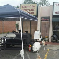 Photo taken at True BBQ by James B. on 4/17/2015