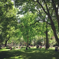 Photo taken at Madison Square Park by Monica K. on 6/5/2013