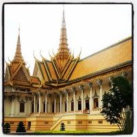 Photo taken at Royal Palace, Phnom Penh by Martin B. on 6/17/2013