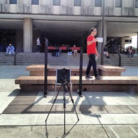 Photo taken at Wescoe Beach by Colin L. on 9/24/2012
