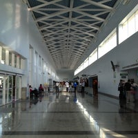 Photo taken at Piarco International Airport (POS) by Andres M. on 4/16/2013
