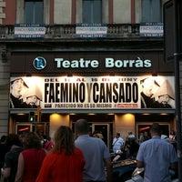 Photo taken at Teatre Borràs by Pepa P. on 6/14/2013