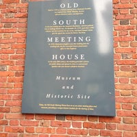 Photo taken at Old South Meeting House by Jess D. on 12/2/2012