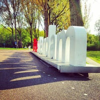 Photo taken at Amsterdamse Bos by Ekaterina K. on 5/9/2013