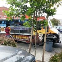 Photo taken at El Tonayense Taco Truck by Matt C. on 7/22/2013