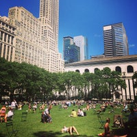 Photo taken at Bryant Park by Alexandra T. on 6/12/2013