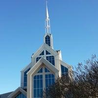 Photo taken at North Cleveland Church of God by Mel V. on 10/20/2013