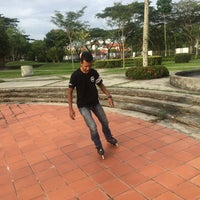 Photo taken at Setia Indah Recreation Park by Muhammad N. on 2/20/2016