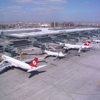 Photo taken at Istanbul Atatürk Airport (IST) by Özgür D. on 7/18/2013