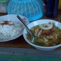 Photo taken at Soto Ayam Pak Min by Andy P. on 9/22/2014