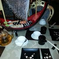 """Photo taken at """"Gold - Cafe"""" Restorāns by Jhony P. on 12/18/2012"""