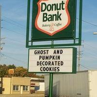 Photo taken at Donut Bank Bakery & Coffee Shop by John Wayne L. on 10/28/2013