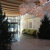 Photo taken at Fletcher Hotel-Restaurant Doorwerth-Arnhem by Margriet V. on 12/11/2012