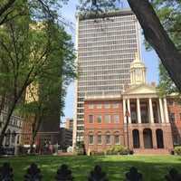 Photo taken at Connecticut's Old State House by ariq d. on 5/29/2016