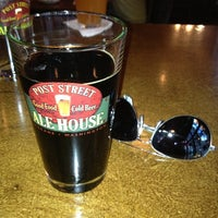 Photo taken at Post Street Ale House by Christopher L D. on 10/5/2012