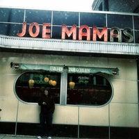 Photo taken at Joe Mama's by Matthew B. on 3/3/2013