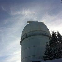 Photo taken at Национална Астрономическа Обсерватория (National Astronomical Observatory) by Yaroslava Y. on 1/11/2013