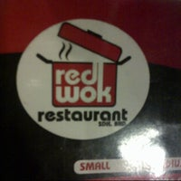 Photo taken at Red Wok Restaurant by Myera Y. on 10/27/2012