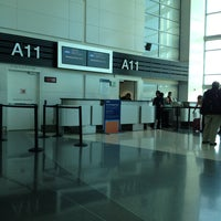 Photo taken at Gate A11 by Anthony L. on 10/14/2013