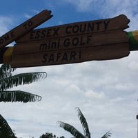 Photo taken at Essex County Mini Golf Safari by Marissa S. on 8/23/2014
