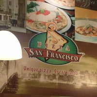 Photo taken at San Francisco Pizza by Daddy S. on 2/10/2013