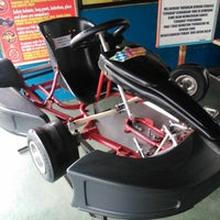 Photo taken at Speedy Karting by Aditiyando S. on 12/8/2013